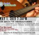 New York Andalus Ensemble Spring Concert, May 1