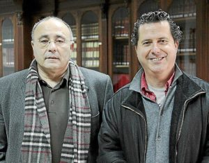 Photo of Josep Prohens and Andreu Riera